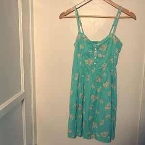 Abercrombie & Fitch Floral Fit and Flare Dress (S)